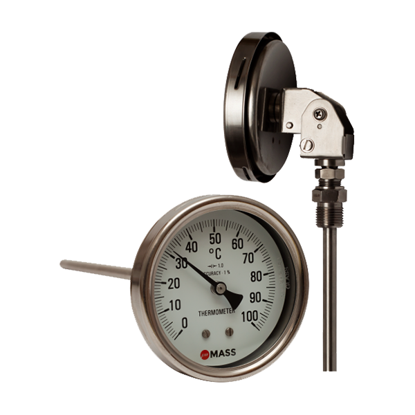 Bimetal Temperature Gauge