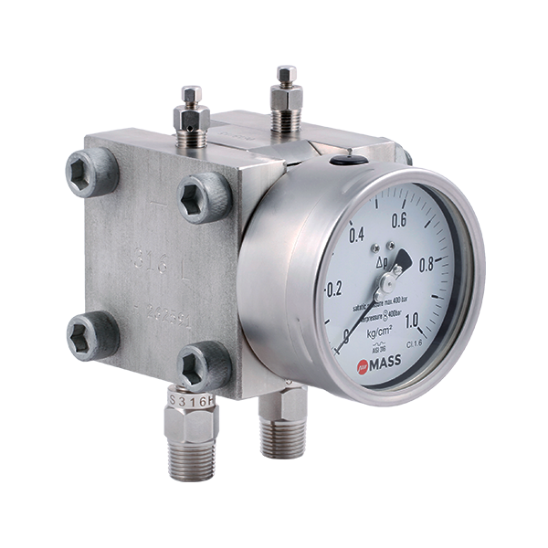 D105 Double Diaphragm Differential Pressure Gauge