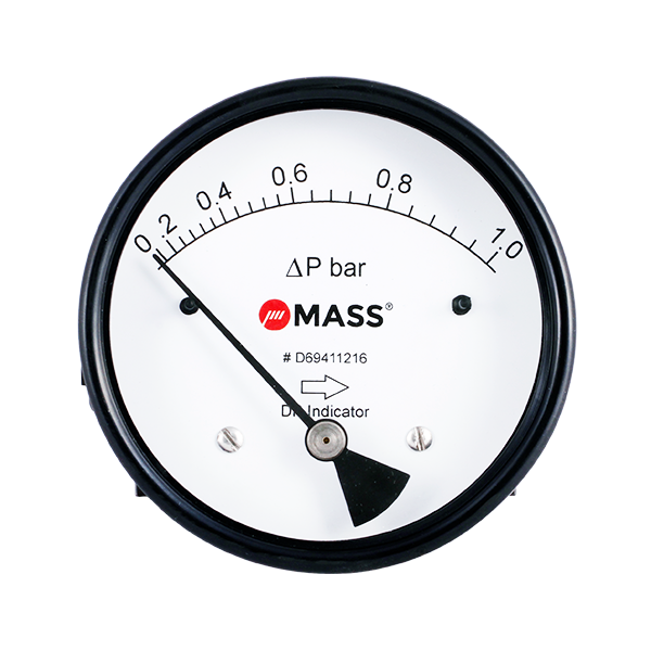 D201 Magnetic Piston Differential Pressure Gauge
