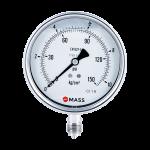 GES Compact Industrial Pressure Gauges