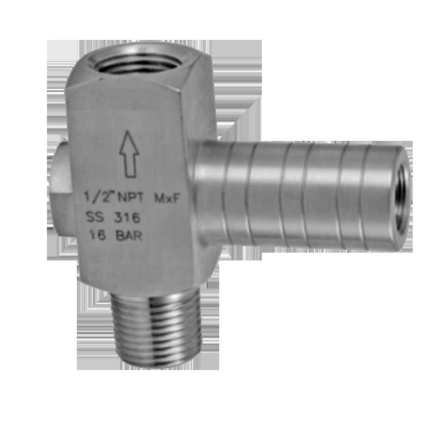 PL2 Low Pressure limiter / Gauge saver Model