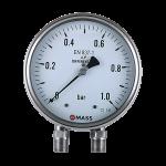 D100, Bellow Type Differential Pressure Gauge