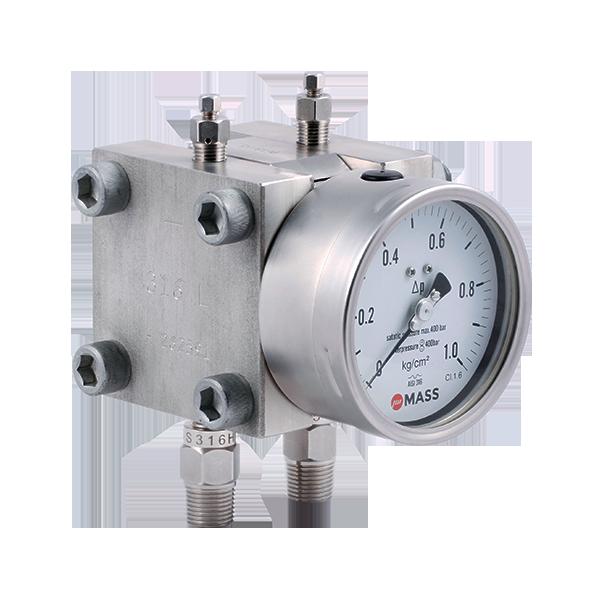 D105 Double Diaphragm Differential Pressure Gauge