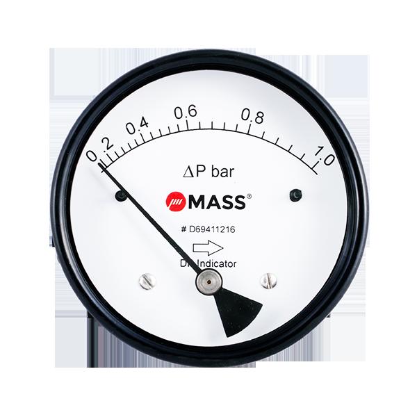 D201 Magnetic Piston Differential Pressure Gauge
