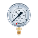 GFB Industrial Pressure Gauges