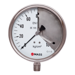 SFS Solid Front Process Pressure Gauge