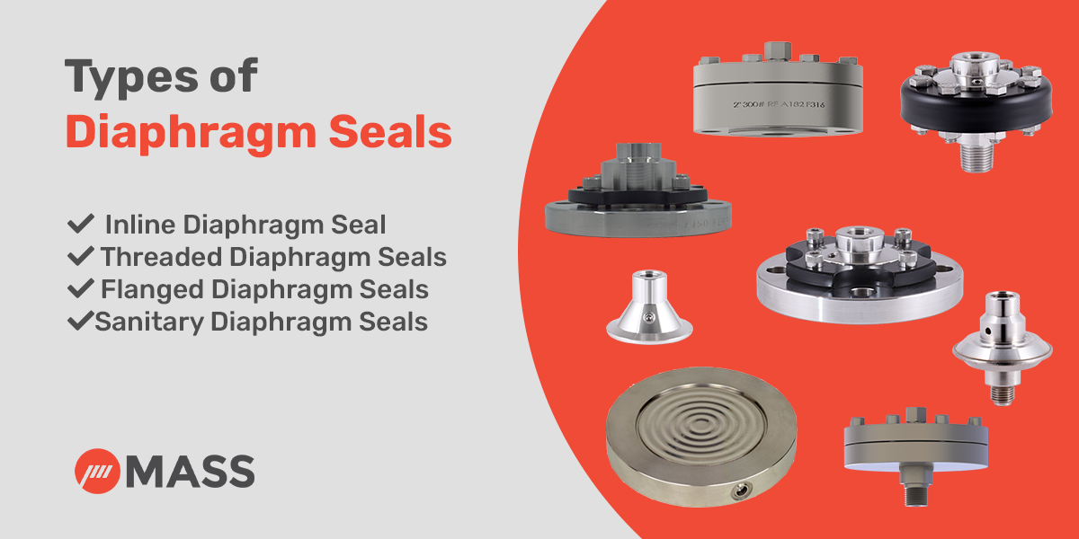 Types of Diaphragm Seals