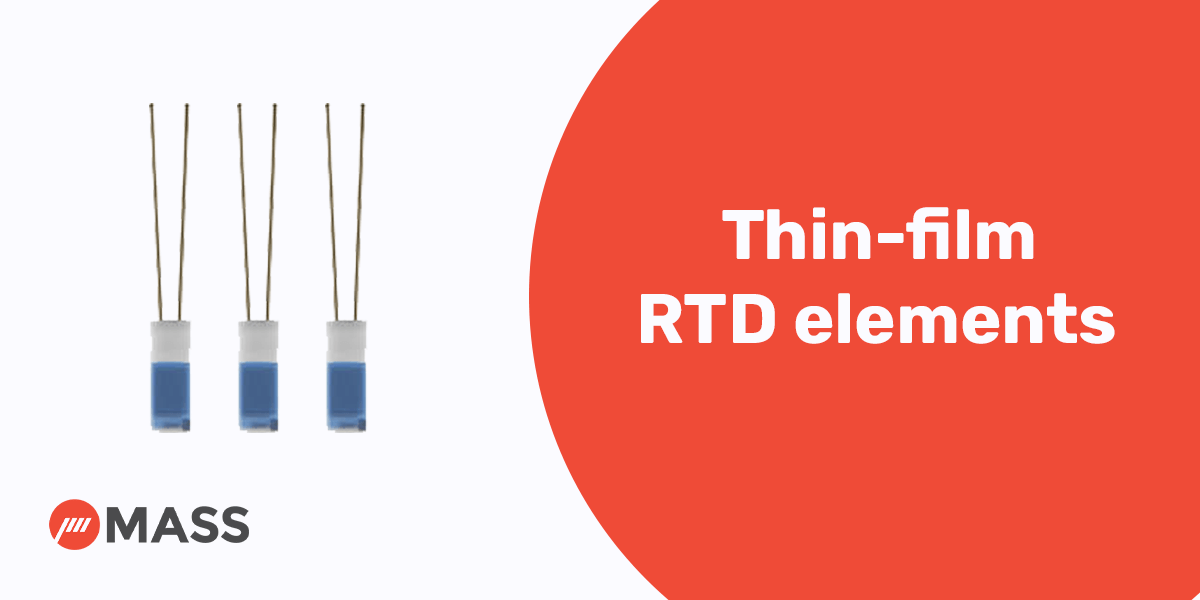 Thin-film RTD elements